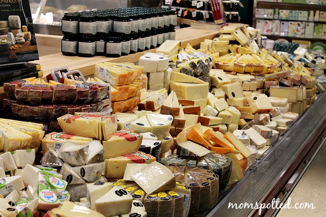Whole Foods Blog Event in Boston's South End Cheese Section