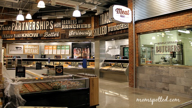 Whole Foods Blog Event in Boston's South End Butcher Meat Dept