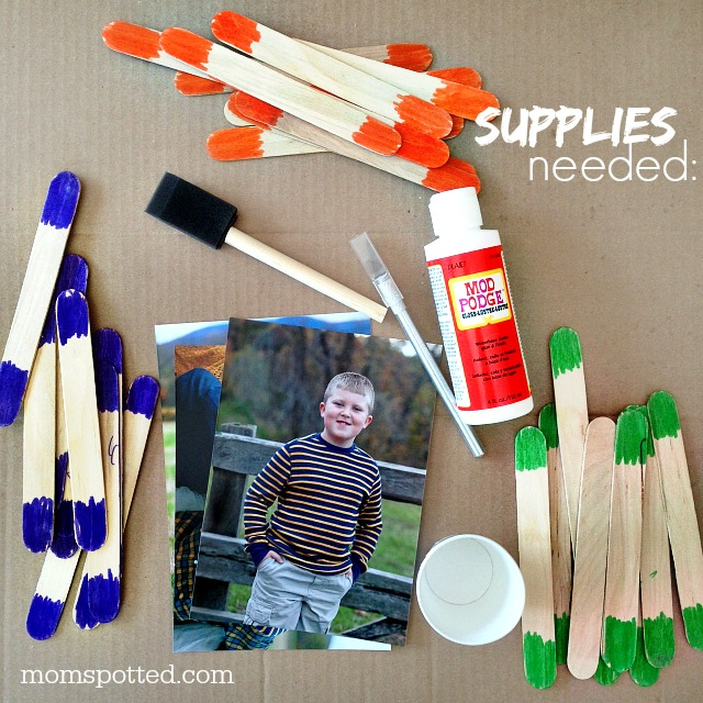 Popsicle Stick Puzzle Magnets {Fun Crafts with Mom}5