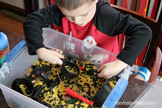 Pirate Ship Sensory Kit Goody Boxes for Pirate Party