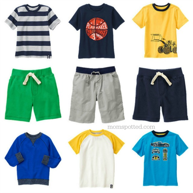 Hop 'N' Roll Your Way into Gymboree & Help KaBOOM! Boys Collection