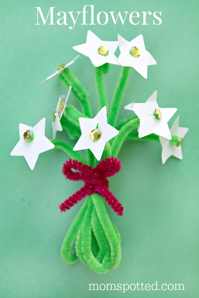 Mayflower - A Massachusetts State Flower Craft