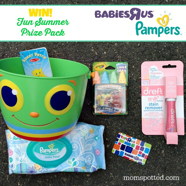 Pampers & Babies R Us Prize Pack Giveaway