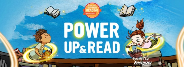 Scholastic, Energizer, summer reading