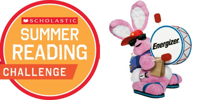 Scholastic Summer Reading Challenge & Power Up with Energizer