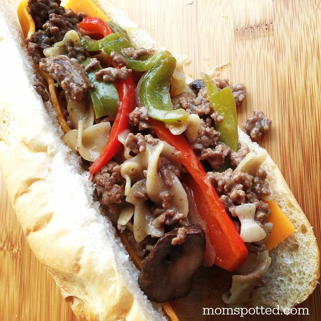 Philly Cheesesteak Grinder Sub