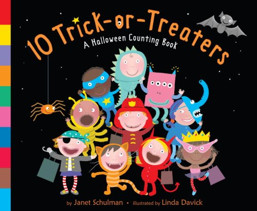 10 Trick-or-Treaters Board book