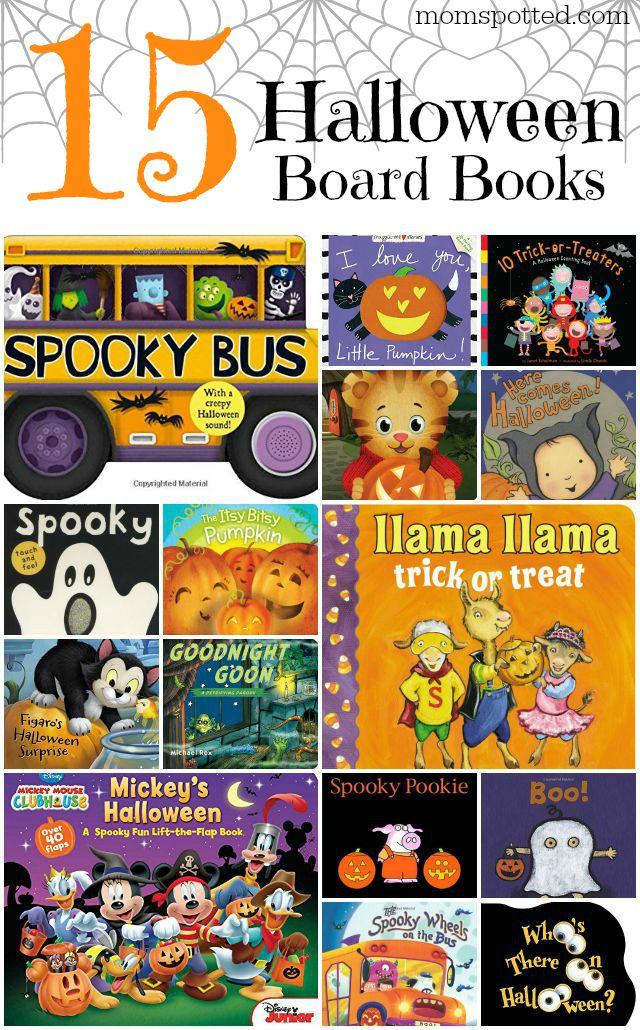 15 Halloween Board Books