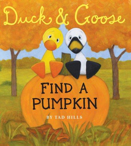 Duck & Goose, Find a Pumpkin (Oversized Board Book) Board book