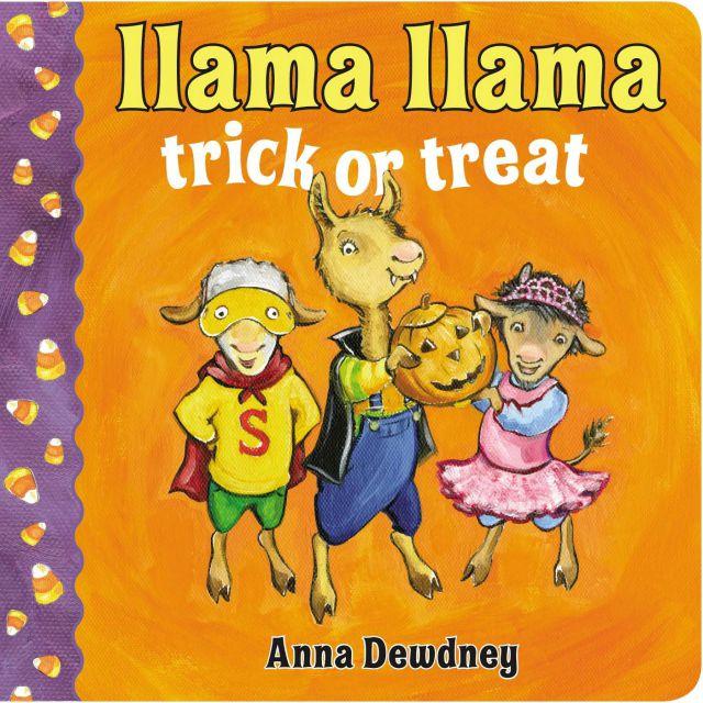 Llama Llama Trick or Treat Board book