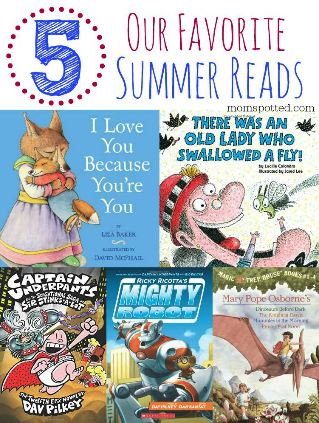 Our 5 Favorite Scholastic Summer Reads