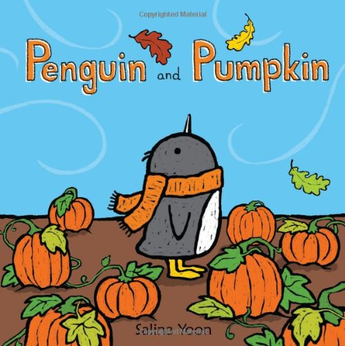 Penguin and Pumpkin Hardcover