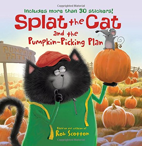 Splat the Cat and the Pumpkin-Picking Plan Paperback