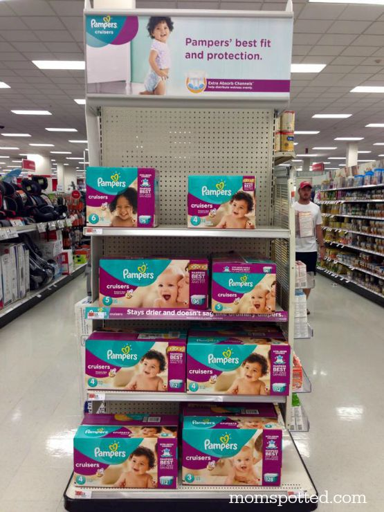 Pampers Cruisers Extra Absorb Channels available at Target
