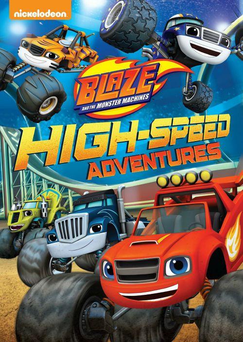 Blaze & The Monster Machines High-Speed Adventure DVD