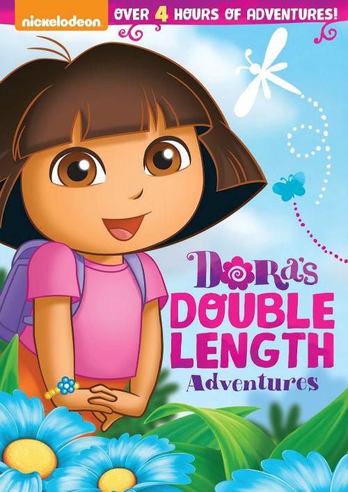 Dora the Explorer Dora's Double Length Adventures DVD