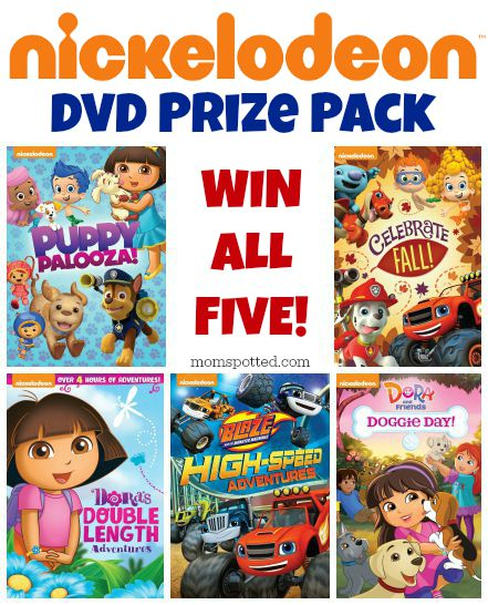 Nickelodeon DVD Prize Pack