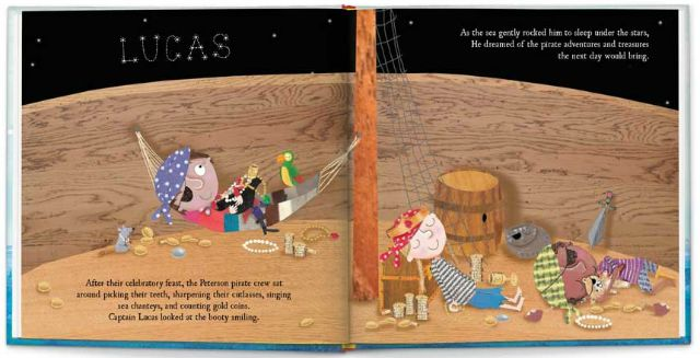National Talk Like a Pirate Day Personalized books