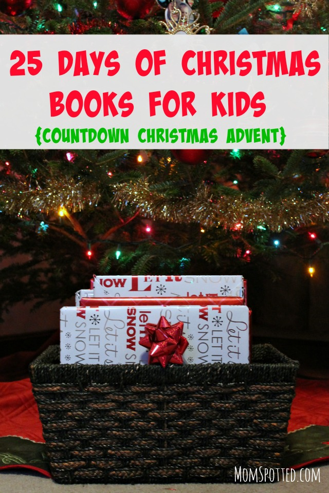 25 Days of Christmas Books for Kids {Countdown Christmas Advent} momspotted