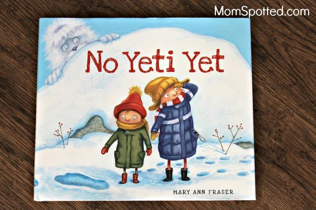 """""""No Yeti Yet"""" Book"""