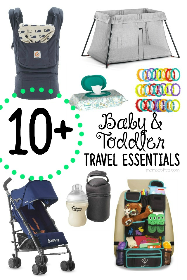 10+ Baby & Toddler Travel Essentials You Need