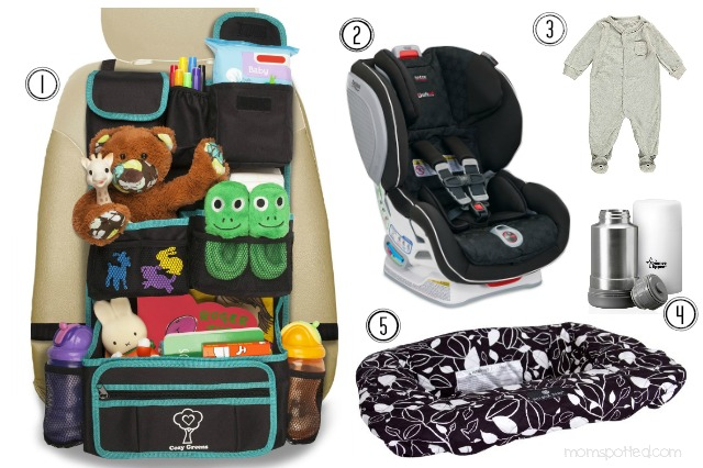 Car Traveling Essentials for baby