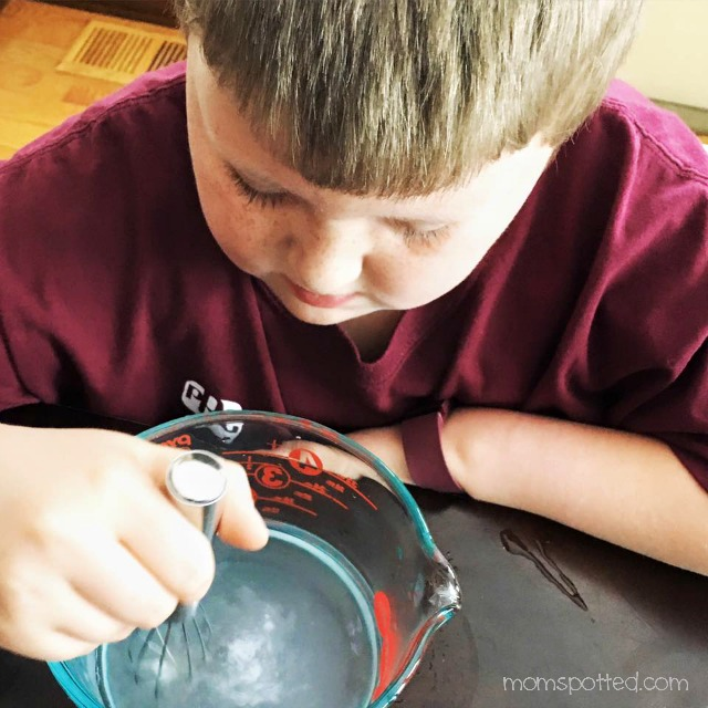 Making slime with borax