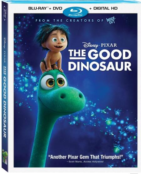 Disney Pixar's The Good Dinosaur Blu-ray and Digital