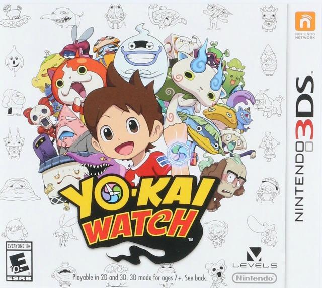 Nintendo Yo-Kai Watch DS Game