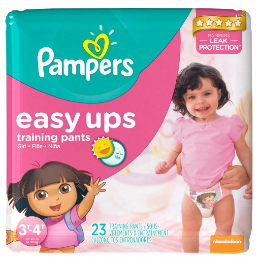 Successfully Potty Training Your Toddlers With Pampers EasyUps &Giveaway