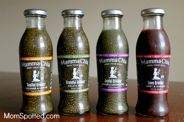 Mamma Chia's NEW Chia & Greens Beverage: Perfect For The Entire Family {+ Giveaway!}