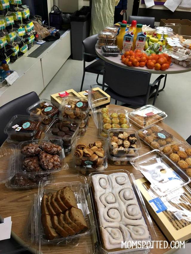 bakery pampers thankyounurses set up
