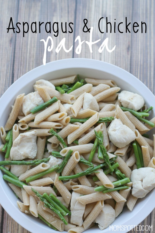 Asparagus & Chicken Pasta Recipe
