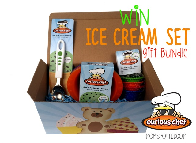 Curious Chef Ice Cream Set Gift Bundle