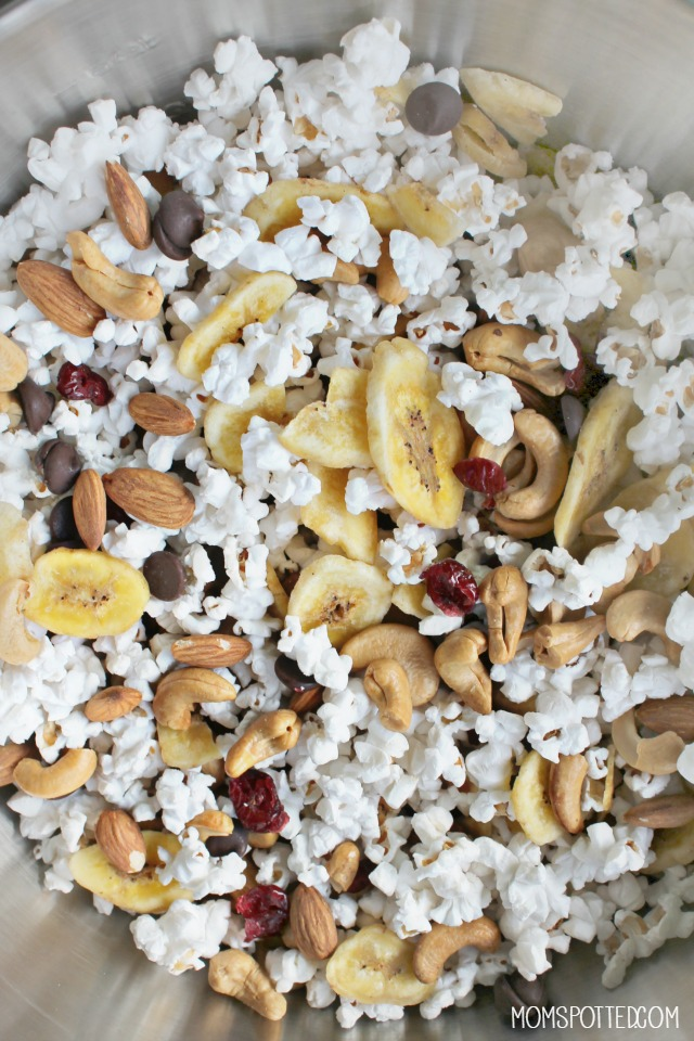 Easy Healthy Trail Mix on the go