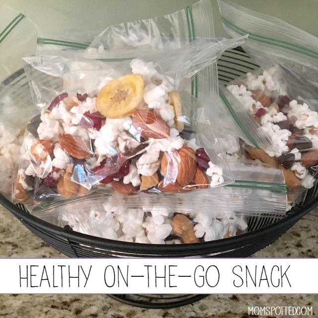 Healthy on the go snack