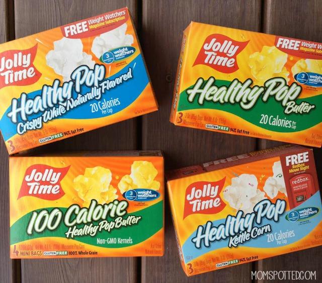 JOLLY TIME Pop Corn Varieties