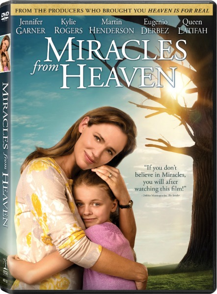 Miracles From Heaven *NOW* on Blu-Ray, DVD, and Digital Copy {& Movie Night Prize Pack!}