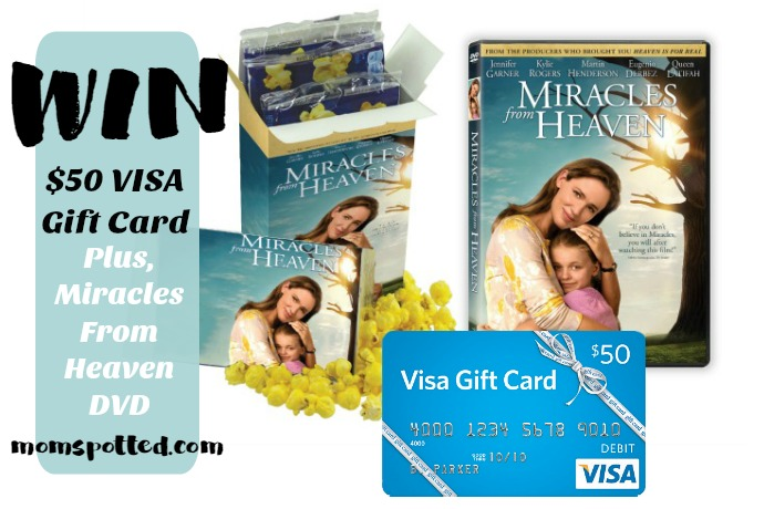 Miracles From Heaven DVD Giveaway