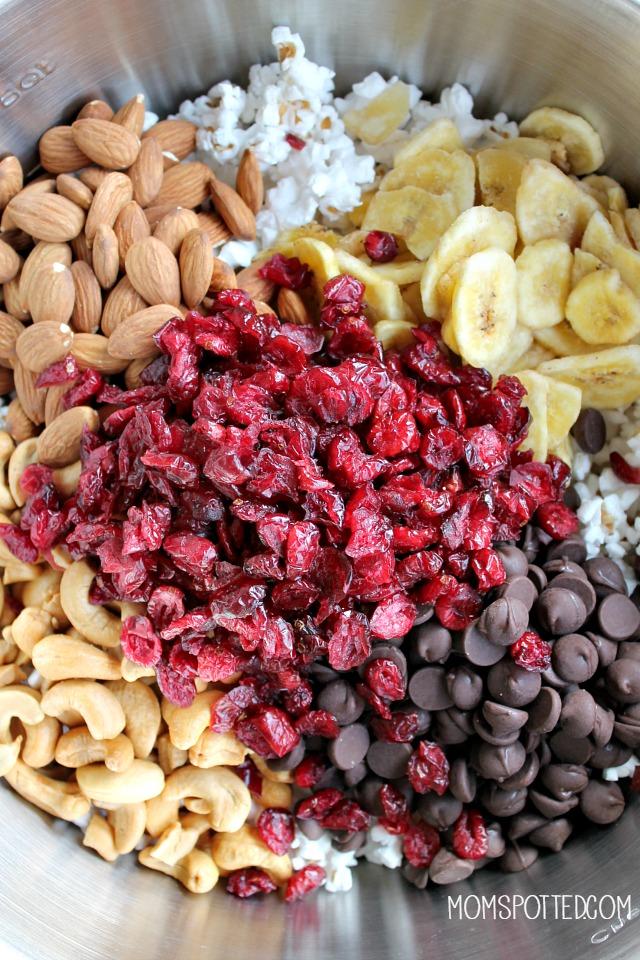 Easy HealthyTrail Mix Yum