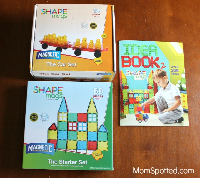 Shape Mags Stick'N Stack Tiles Encourage Creativity and Imagination! {& Giveaway!}
