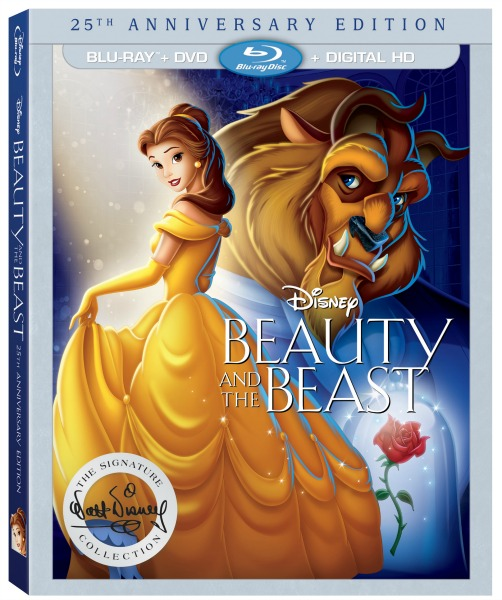 Disney's Beauty and the Beast 25th Anniversary Edition NOW on Blu-ray, DVD, & Digital HD