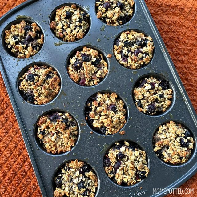 gluten free blueberry-pecan-oatmeal-muffins-baked