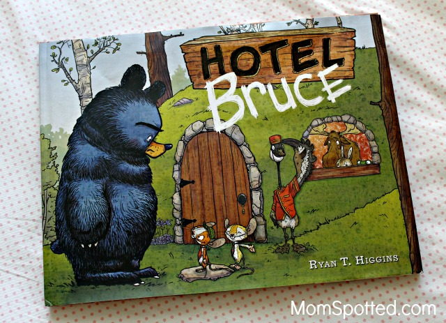 "Relax and Read ""Hotel Bruce"" from Disney Publishing {Plus, Giveaway}"