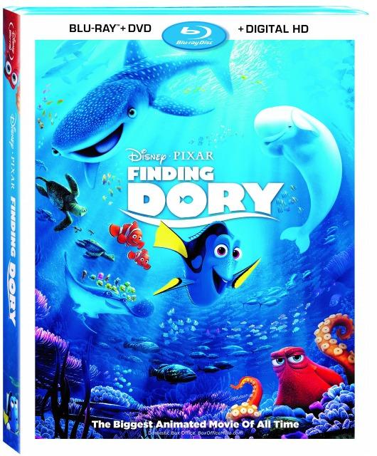 Disney Pixar's Finding Dory *NOW* on Digital HD & Blu-ray