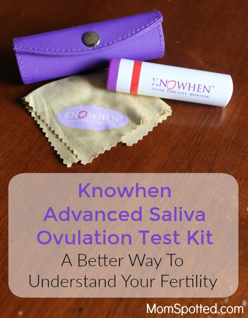 Knowhen Advanced Saliva Ovulation Test Kit - A Better Way To Understand Your Fertility