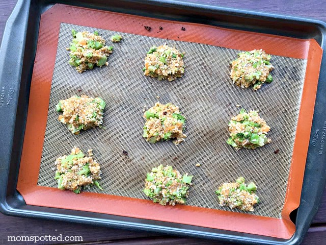 Clean Eating Cheesy Veggie Tots