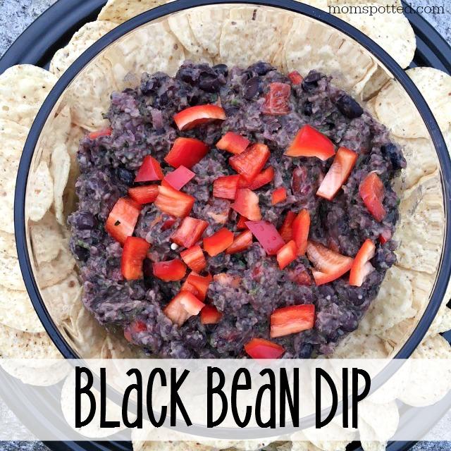 Clean Eating Black Bean Dip