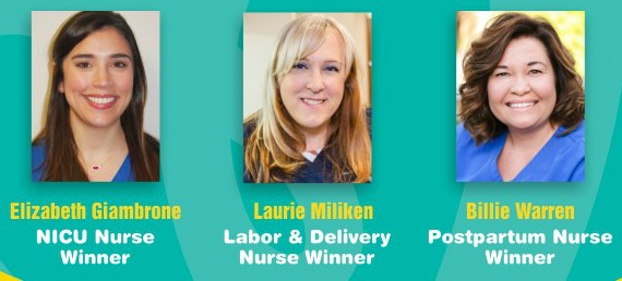 Pampers Swaddlers Thank You Nurses Award Winners - MomSpotted