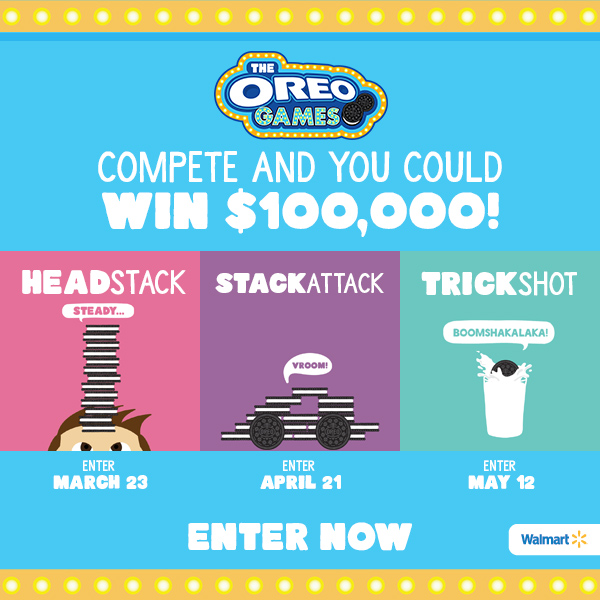 Vote In The 2017 OREO Games Stack Attack Challenge